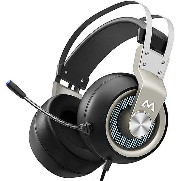 Mpow EG3 Pro Wired Gaming Headset with 3D Surround Sound