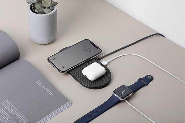 Native Union Drop XL Wireless Charging Pad with a USB Port