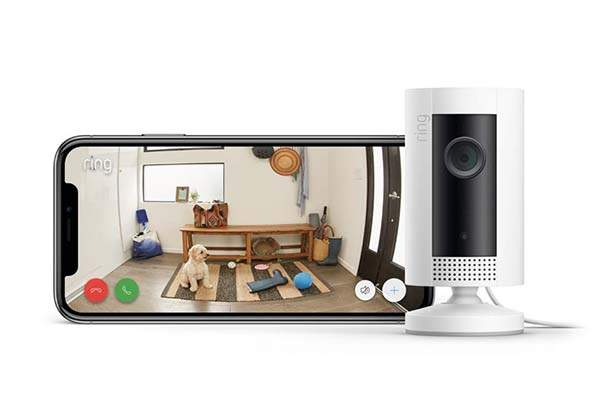 Ring Indoor Cam Compact HD Security Camera Works with Alexa