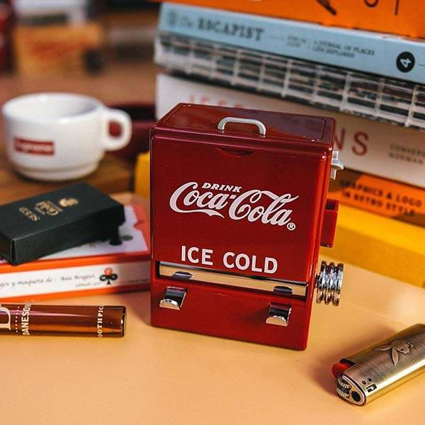 Tablecraft Coca-Cola Inspired Toothpick Dispenser