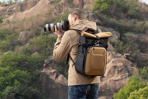 Tarion XH Roll Top DSLR Camera Backpack