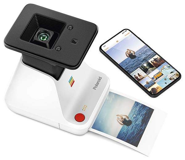 The Polaroid Lab Digital to Analog Polaroid Photo Printer