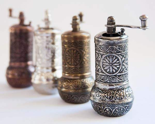 Turkish Traditional Salt, Spice and Pepper Grinder