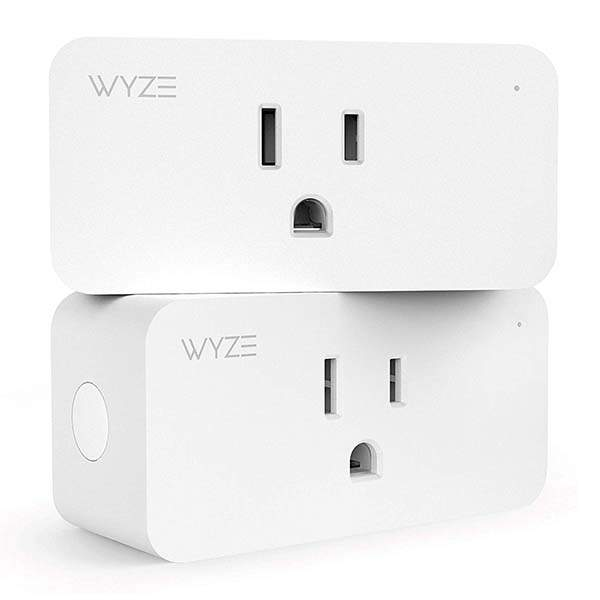 Wyze Labs Wlpp1 WiFi Smart Plug Compatible with Amazon Alexa and Google Home