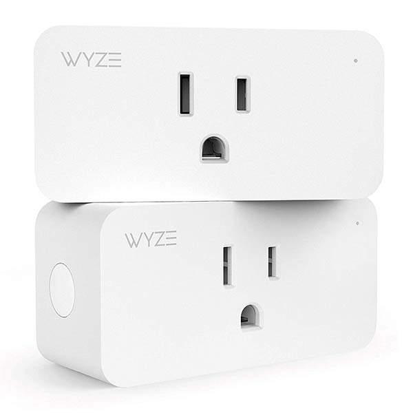 Wyze Labs Wlpp1 WiFi Smart Plug Compatible with Amazon Alexa and Google Home