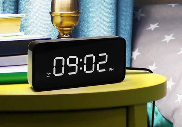 ZMI Reason ONE Smart Alarm Clock with Alexa Built-in