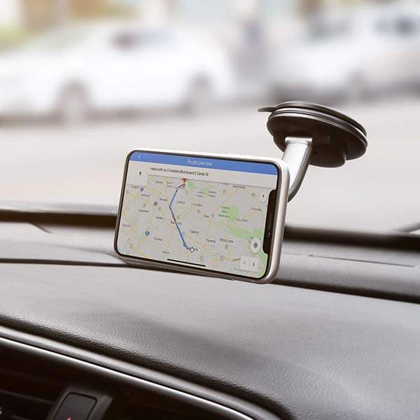 Aukey DH-C49 Magnetic Car Phone Mount with 360-Degree Rotation