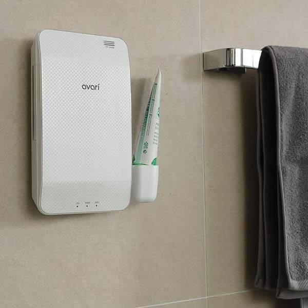 Avari Dual UV & Heat Razor and Toothbrush Sanitizer