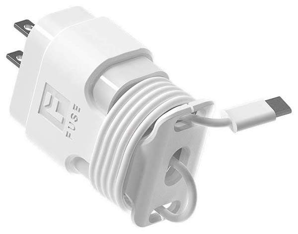 Fuse Snap Back Charger Winder for Apple Chargers