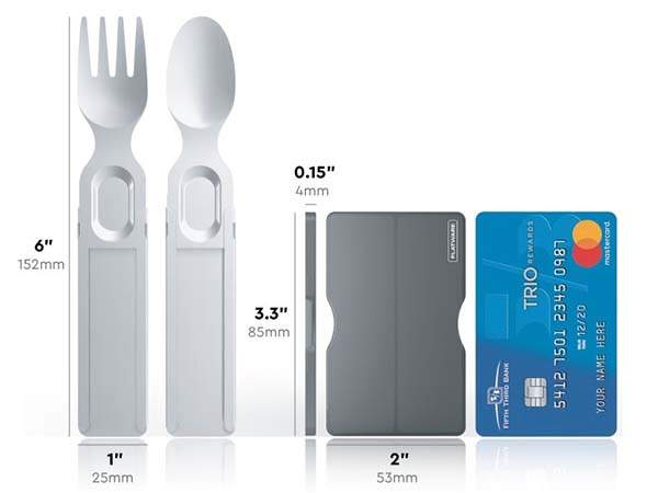 GoSun Flatware Retractable and Reusable Utensils