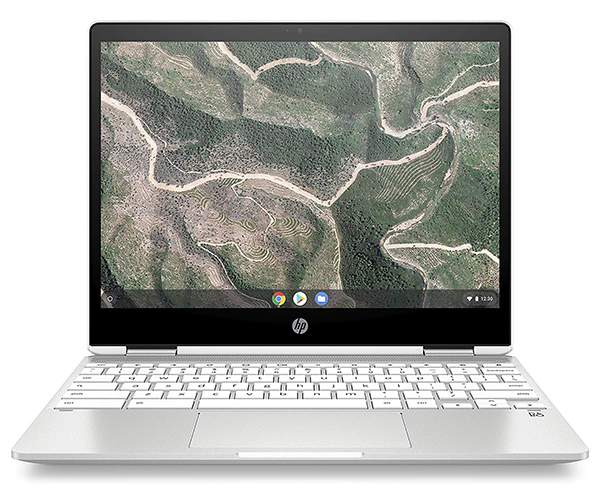 HP Chromebook X360 with 12-Inch Touchscreen Display