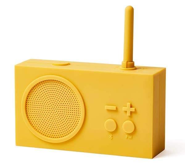 Lexon Tykho Booster Bluetooth Speaker with FM Radio