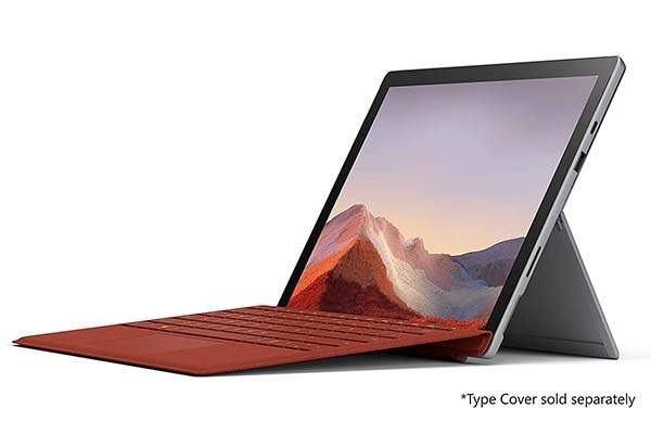 Microsoft Surface Pro 7 Ultra-Light 2-in-1 Windows Tablet