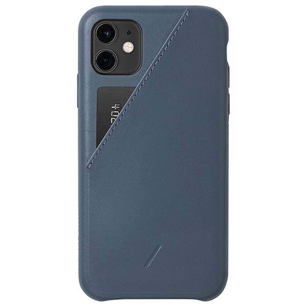 Native Union Clic Card iPhone 11 Leather Case for 11/11 Pro/11 Pro Max