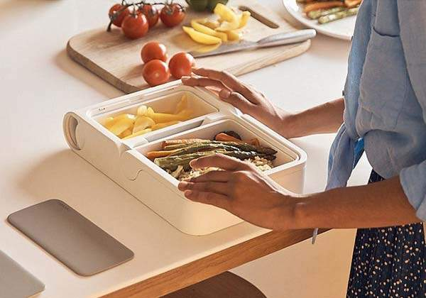 Neoven Portable Food Warmer with Fridge, Kettle and Mixer