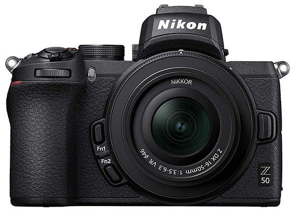 Nikon Z50 DX-Format Compact Mirrorless Camera