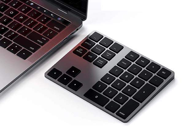 Satechi Bluetooth Extended Numeric Keypad with MacOS Shortcut Keys