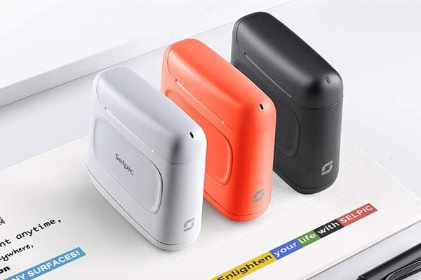 Selpic S1+ Palm-Sized Handheld Color Printer