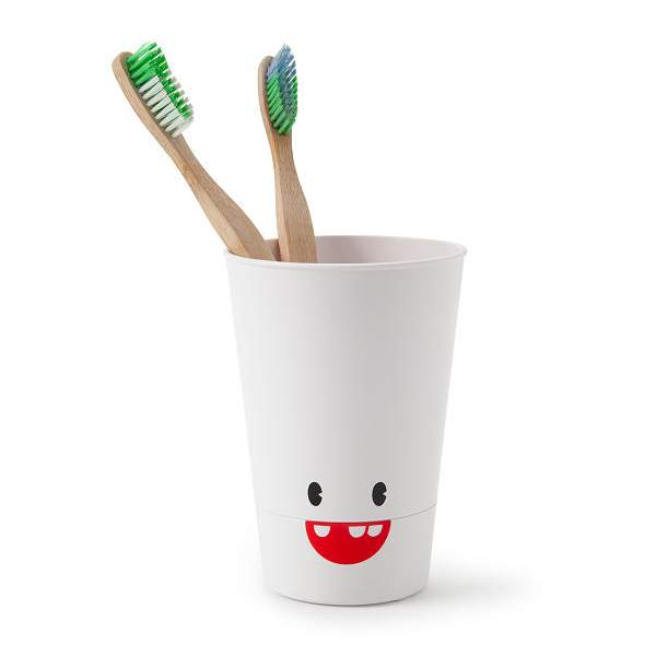 Toothbrush Cup with Built-in Timer