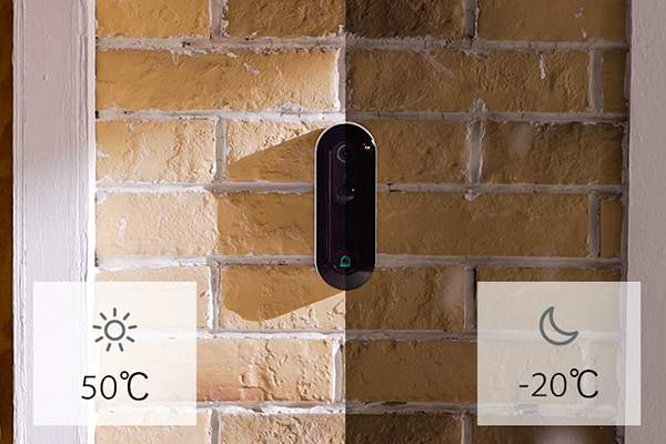 WUUK Smart Video Doorbell with AI Facial Recognition