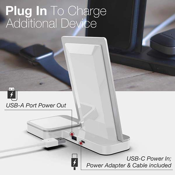 X-Doria Defense Vertical Duo Wireless Charging Station