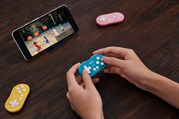 8Bitdo Zero 2 Mini Bluetooth Gamepad for Windows, Nintendo Switch, Android and More
