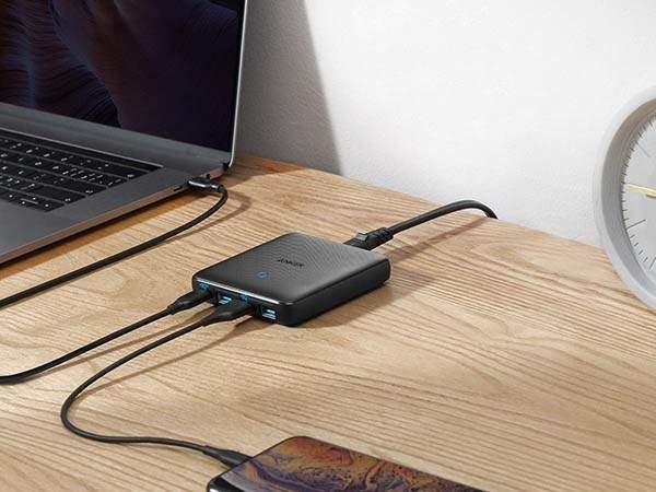 Anker PowerPort Atom III Slim USB-C Desktop Charger