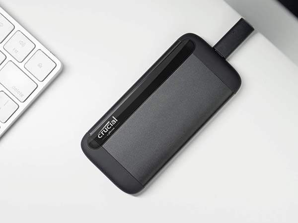 Crucial X8 Portable SSD with 500GB/1TB Storage Capacity