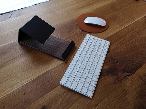 Handmade Minimal Desk Laptop Stand
