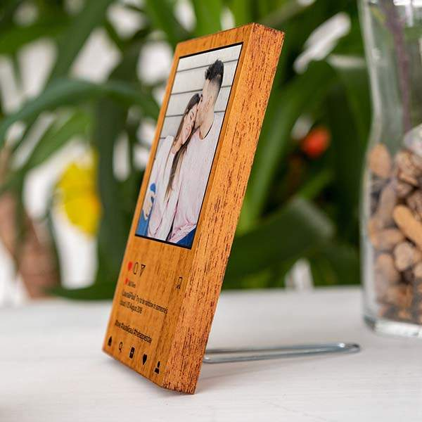 Handmade Personalized Instagram Wooden Photo Frame