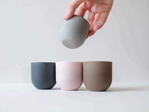 Handmade Porcelain Espresso Cup Set