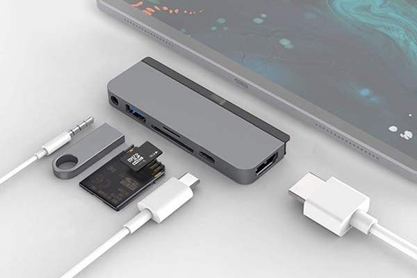 HyperDrive 6-In-1 iPad Pro USB-C Hub
