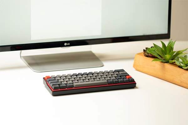 Kemove Convertible Bluetooth Wireless Mechanical Keyboard