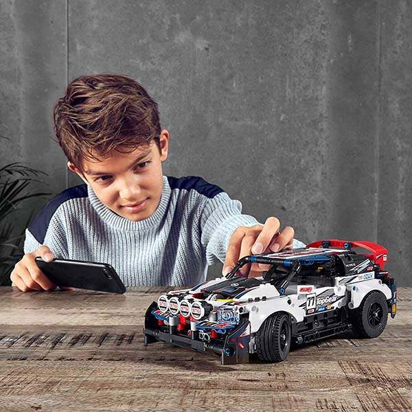 LEGO Technic App-Controlled Top Gear Rally Car Building Kit