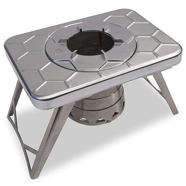 nCamp Stove Plus Multi-Fuel Collapsible Camping Stove