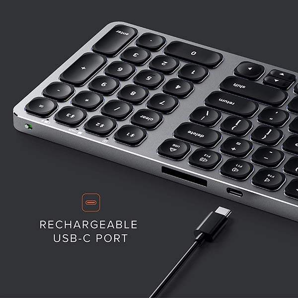 Satechi Compact Bluetooth Keyboard with Backlight