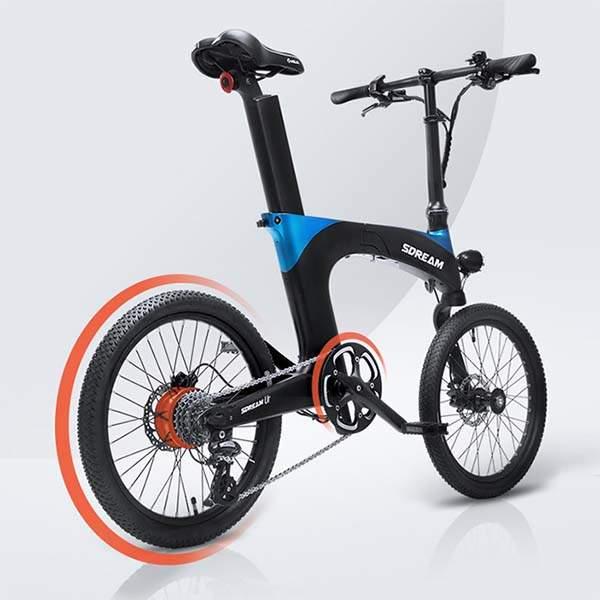 SDREAM Ur Suspension Folding Electric Bike