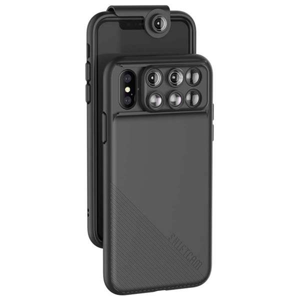 ShiftCam 2.0 iPhone X Case with 6 Integrated Phone Lenses