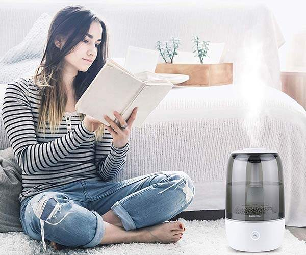 SwitchBot Smart Ultrasonic Humidifier Compatible with Alexa, Google Home, HomePod and IFTTT