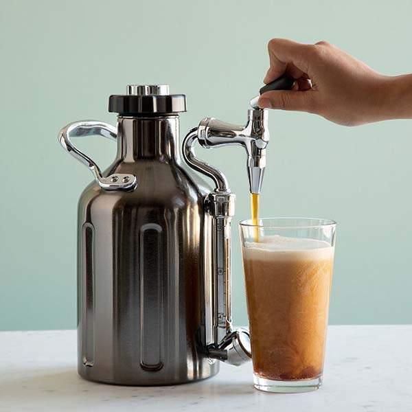 The Nitro Cold Brew Coffee Maker