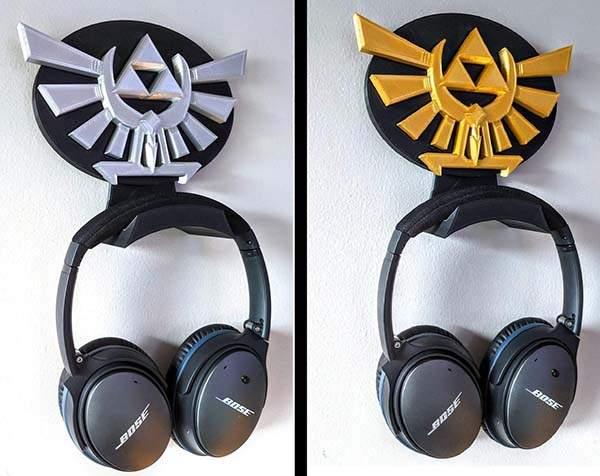3D Printed Zelda Headphone Hanger