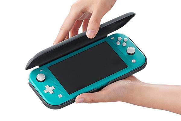 Flip Nintendo Switch Lite Case and Screen Protector
