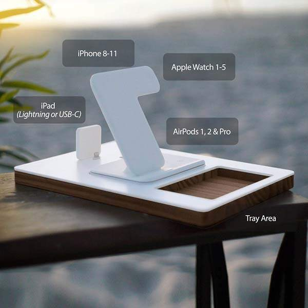 Charging Station with Desk Organizer