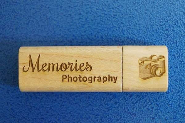 Handmade Customizable Wooden USB Flash Drive