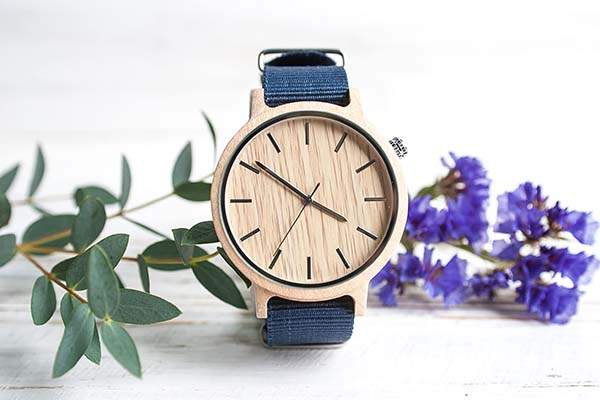 Handmade Personalized Wooden Watch for Women