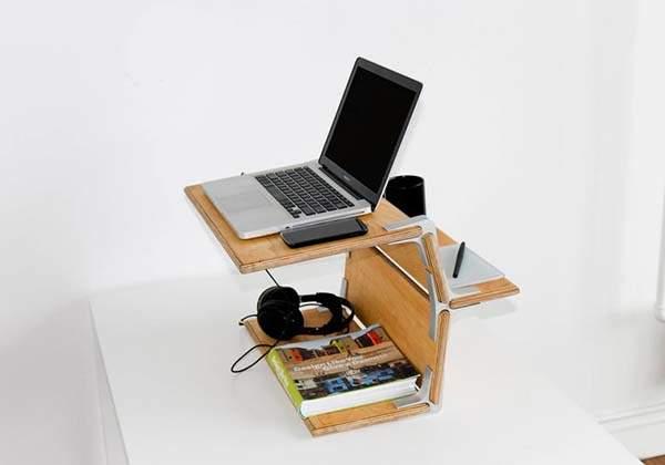 Modos Handmade Wooden Standing Desk