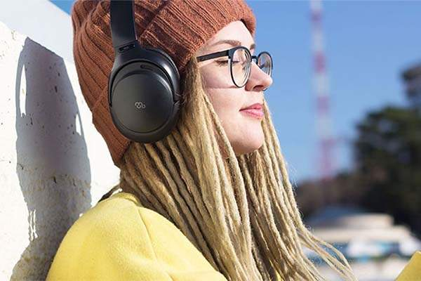 Mu6 Space 2 Active Noise Cancelling Bluetooth Headphones