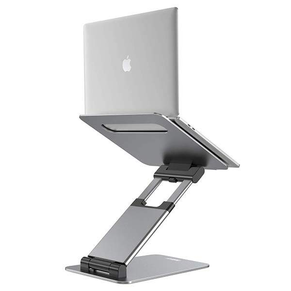 Nulaxy Aluminum Sit Stand Laptop Stand