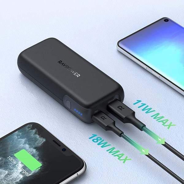 RAVPower 10000 29W PD USB-C Portable Power Bank