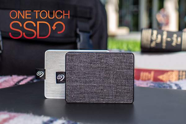 Seagate One Touch Mini SSD with Fabric Cover